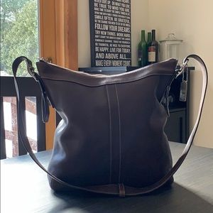 Authentic Leather Coach Handbag 9188